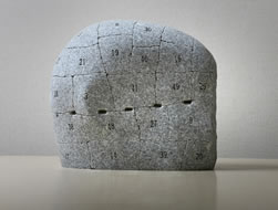 Atsuo Okamoto, Volume of Lives for London, 2012, granite, 32 x 35 x 20 cm