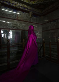Guler Ates, Purple Shroud, 2013, archival photographic print, 45 x 62.5 cm